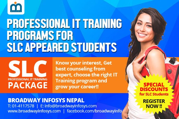 Training for SLC Students.