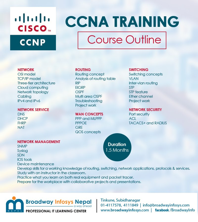 Ccna course duration in bangalore dating 4